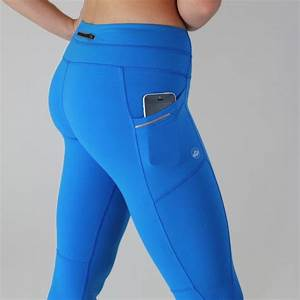 Pocket exercise Capris - Royal Blue 2 side pockets and a back pocket. Workout in these and you ...