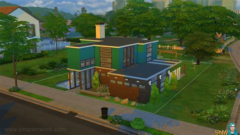 sims 4 ander huis kopen mid century modern huis in de sims 4 snw simsnetwerk