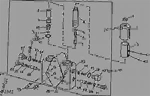 Solenoid Control Valve For Auger Swing   -650300   05e08  - Combine John Deere 9600