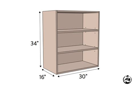 frameless kitchen cabinet plans 30in cabinet carcass frameless 187 rogue engineer 3514