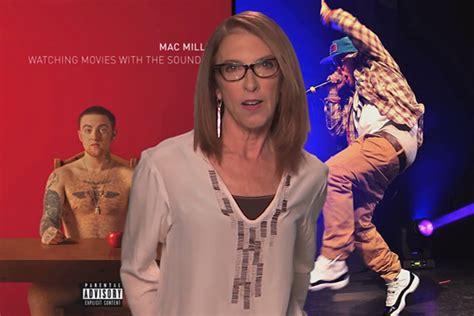 mac millers mom reads  rap lyrics  jimmy kimmel