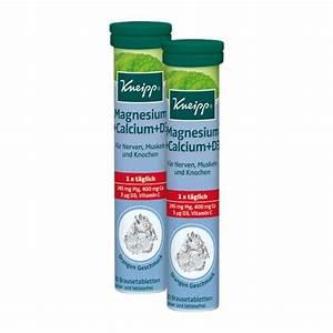 Vitamin D Dosierung Berechnen : kneipp magnesium calcium d3 doppelpack bei nu3 kaufen ~ Themetempest.com Abrechnung