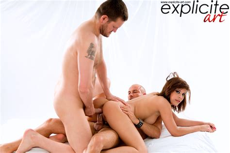 Double Anal Cock And Dildo