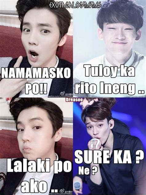 Exo Tagalog Memes - exo tagalog memes www imgkid com the image kid has it