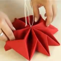 pliage de serviette en papier pour mariage pliage serviette noel en flocon de neige tuto en vidéo
