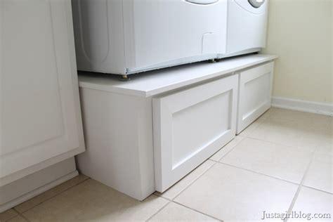 diy laundry pedestal diy pedestals just a