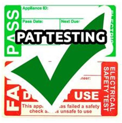 pat test for cancer test its safe pat testing company in crabtree plymouth uk