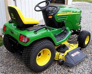 John Deere X475 Lawn And Garden Tractor Service Manual