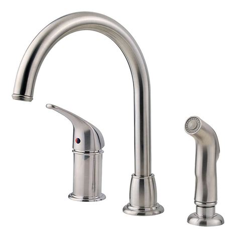 spray kitchen faucet pfister prive single handle pull out sprayer kitchen