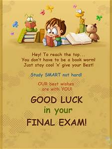 For Exams Good Luck Quotes. QuotesGram