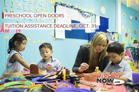 preschool open doors tuition assistance deadline oct 31 790 | preschool 1024x683