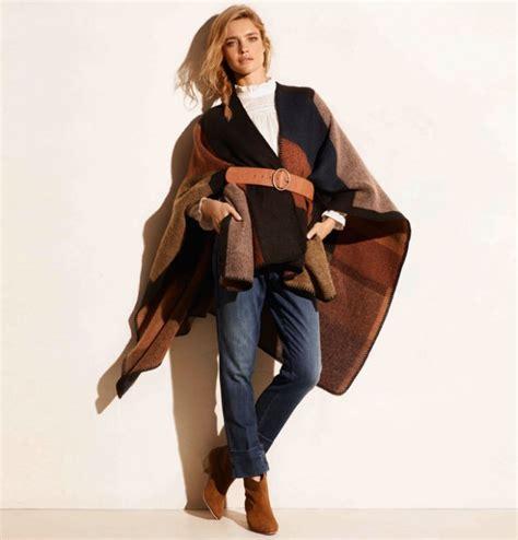 comment porter le poncho pour l automne hiver 2015 2016