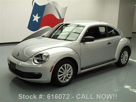 on board diagnostic system 1965 volkswagen beetle windshield wipe control buy used 2012 volkswagen beetle 2 5 automatic cruise control 46k texas direct auto in stafford