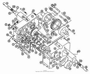 Toro 606  606 Tractor  1966 Parts Diagram For Transmission