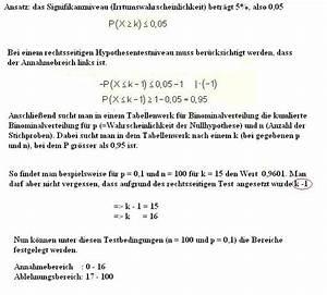 Irrtumswahrscheinlichkeit Berechnen : hypothesentest in der stochastik ~ Themetempest.com Abrechnung