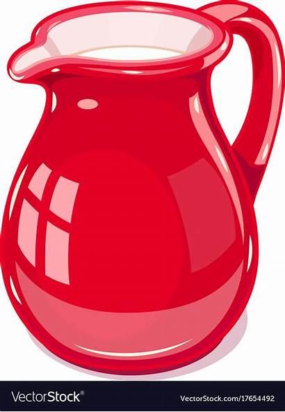 Jug Ceramic Milk Vector Royalty Vectors