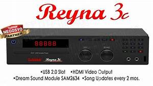New Release    Platinum Reyna 3c Dvd    - Makee Electronics
