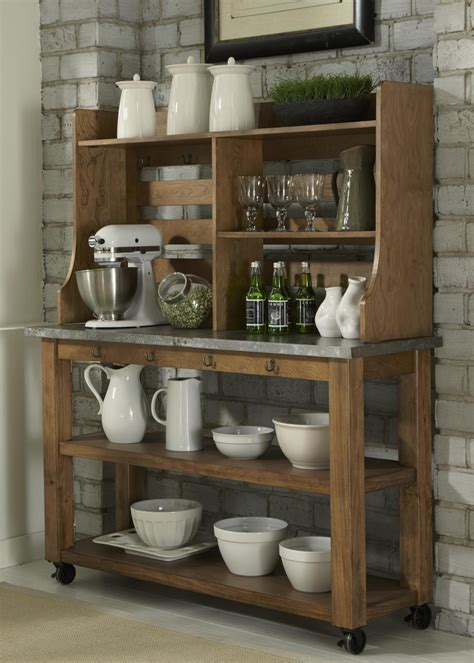 black and white dining room ideas antique wooden bakers rack homesfeed