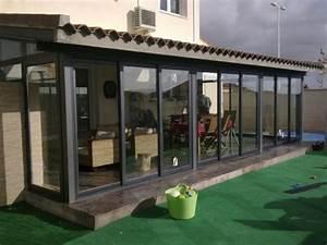 Galerias de casas modernas cerradas con ventanales de vidrios Casa Web