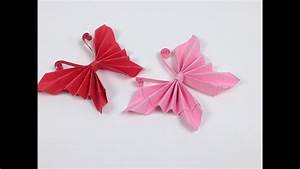 How To Make Easy Origami Paper Butterflies Ud83e Udd8b