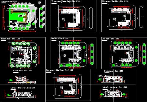 stars hotel  dwg design full project  autocad