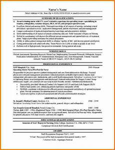 6 experienced nursing resume samples financial statement With free nursing resume examples