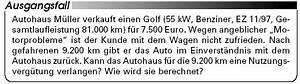 Kilometergeld Berechnen : autokauf nutzungsverg tung richtig berechnen ~ Themetempest.com Abrechnung
