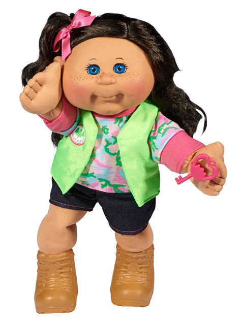 """Cabbage Patch Kids 14"""" Baby Doll: Brunette"""