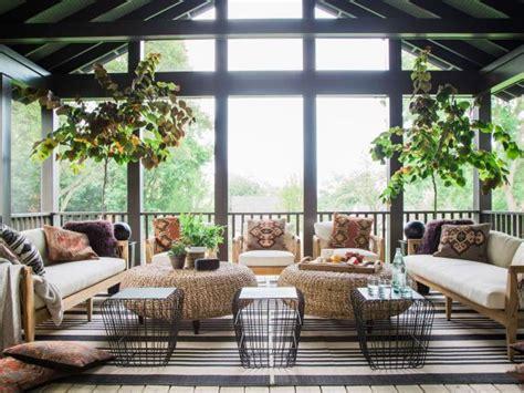 garage screened porch  hgtv urban oasis  hgtv