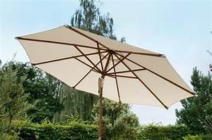 Sonnenschirm Aus Holz : zebra sonnenschirm calypso d3m holz schirm in4 farben art jardin ~ Frokenaadalensverden.com Haus und Dekorationen