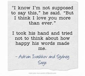 Adrian Ivashkov Quotes. QuotesGram