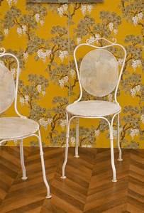 Chaise De Jardin En Fer : chaises jardin fer forg anciennes vintage r tro ann es 1920 blanche ouvrag e ~ Teatrodelosmanantiales.com Idées de Décoration