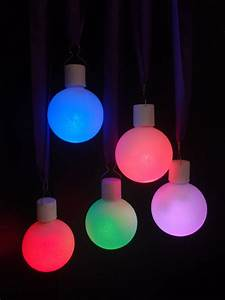 LED Color Changing Ornament Ball Light (5 Pack)