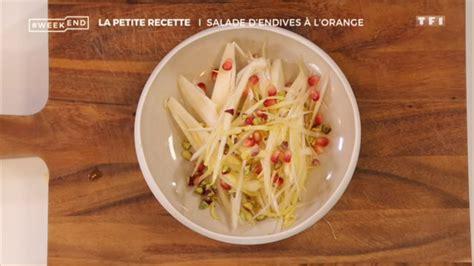 livre de cuisine de laurent mariotte tuto salade d 39 endives à l 39 orange laurent mariotte