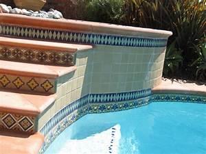 Spanish Deco Pool - Mediterranean - Pool - orange county