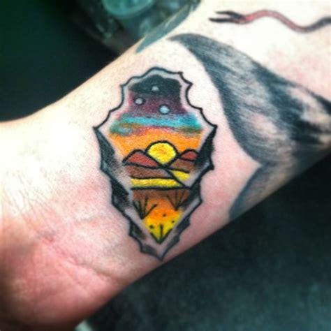 epic arrowhead tattoo  adventurous people