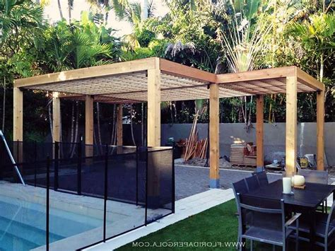 l shaped pergola photos