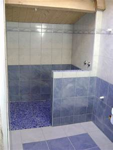 Bac De Douche à L Italienne : salle de bain avec bac douche l 39 italienne galet ~ Premium-room.com Idées de Décoration