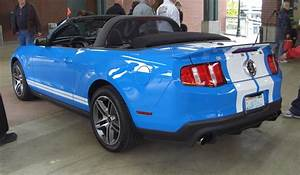 Grabber Blue 2010 Ford Mustang Shelby Convertible - MustangAttitude.com Photo Detail
