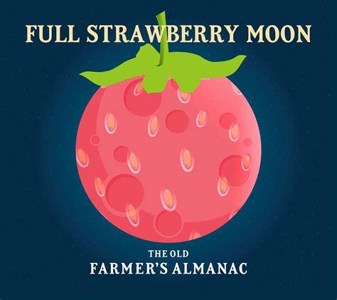 full moon  june   full strawberry moon