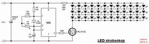 Led Strobe Light  Stroboscope