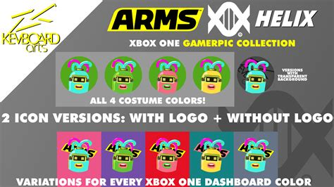 Xbox One Custom Gamerpics Arms Helix By Kevboard On