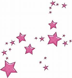 Falling Stars clipart pink - Pencil and in color falling ...