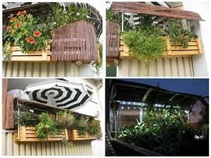 balkonblumenkasten mit wetter und sichtschutzdach led With französischer balkon mit led sonnenschirm