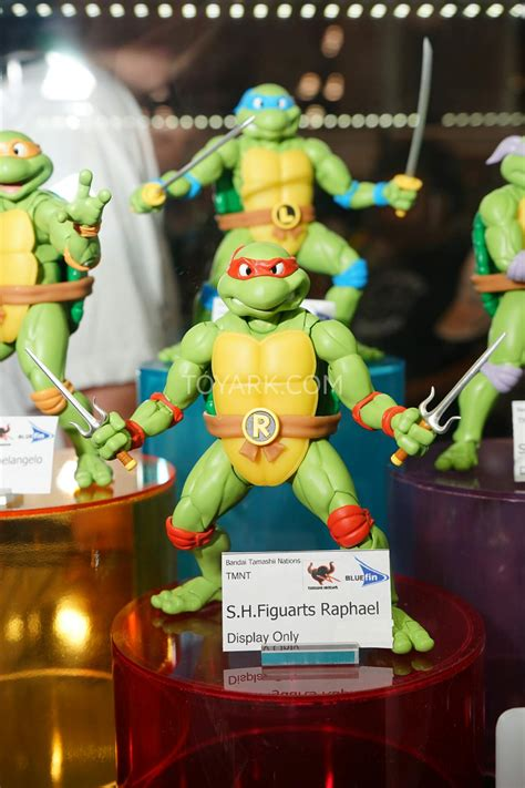 nycc  bluefin sh figuarts teenage mutant ninja turtles  toyark news