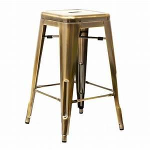 Tabouret De Bar En Solde : tabouret tolix en solde table et meuble maison ~ Teatrodelosmanantiales.com Idées de Décoration