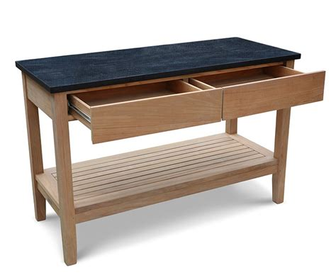 Outdoor Sideboard Console Table by Garden Console Table With Drawers Outdoor Sideboard