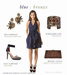navy blue and bronze dress for a wedding dress for the With how to accessorize a navy blue dress for a wedding