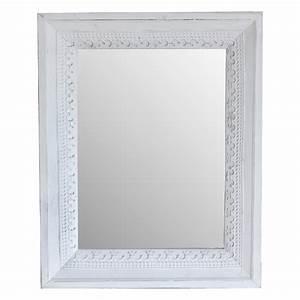 Wandspiegel Groß Weiß : wandspiegel marrakech wei aus holz mit metallverzierung spiegel orientalisch ebay ~ Whattoseeinmadrid.com Haus und Dekorationen