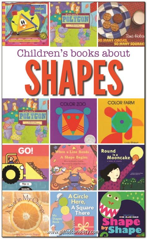 15 books about shapes gift of curiosity 944 | Books about shapes Gift of Curiosity